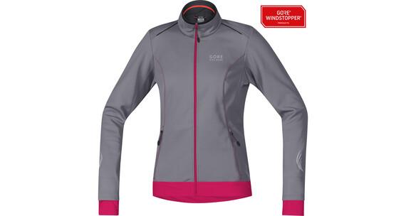 GORE BIKE WEAR Element WS SO Jacket Lady asteroid grey/jazzy pink